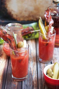 Pinterest Bacon + Bloody Mary