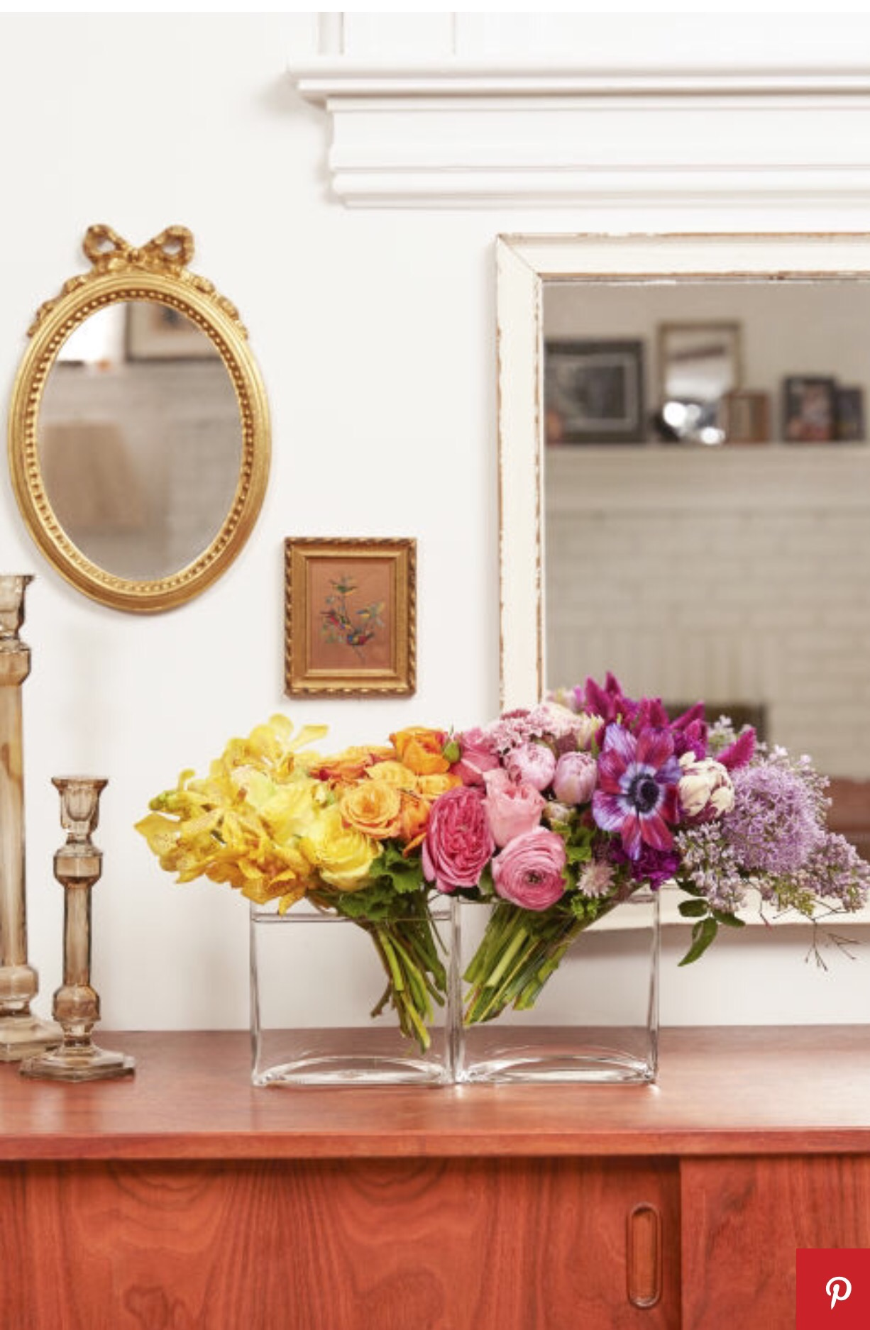 What are some tips for making your own flower arrangements?