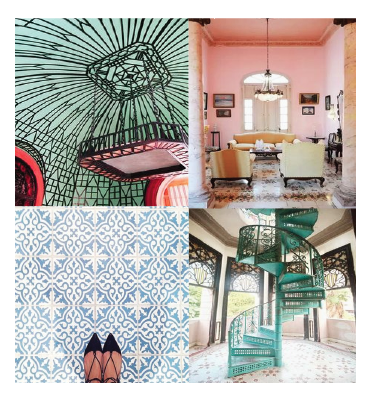 Cuban Inspired Interiors KF DESIGN LIFE STYLE