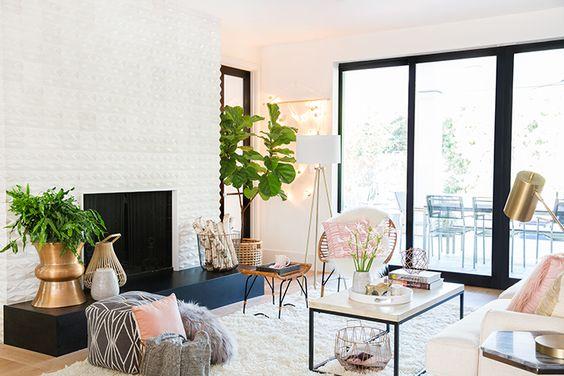 Million Dollar Living Room On A Target Budget Shop High
