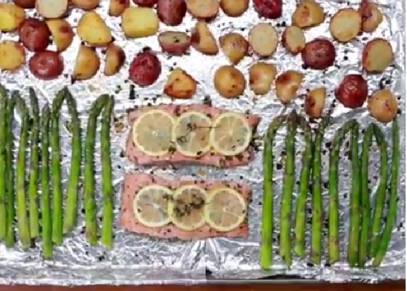 The best grilled fish veggie recipes kf design life for Fish and vegetable recipes