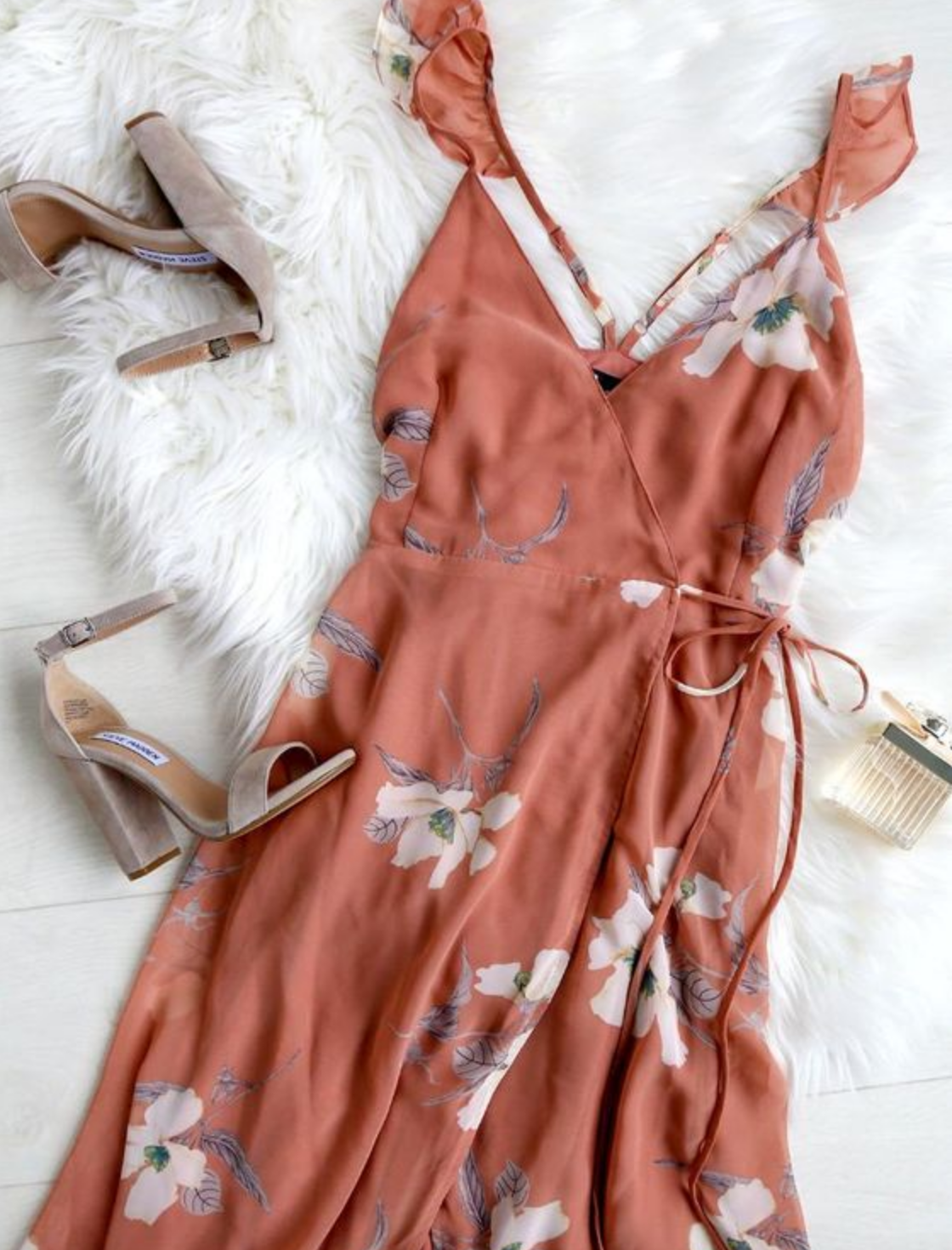 Summer sundress fashion