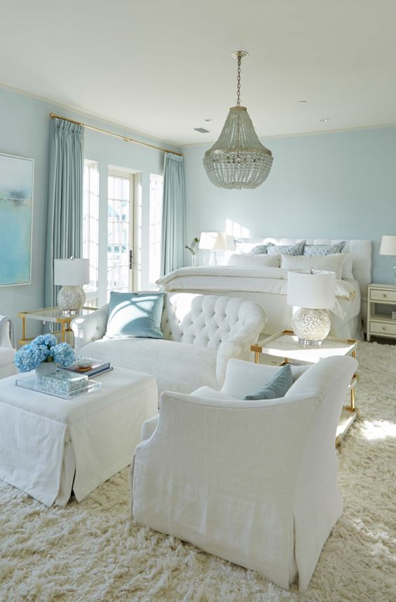 aqua color in home