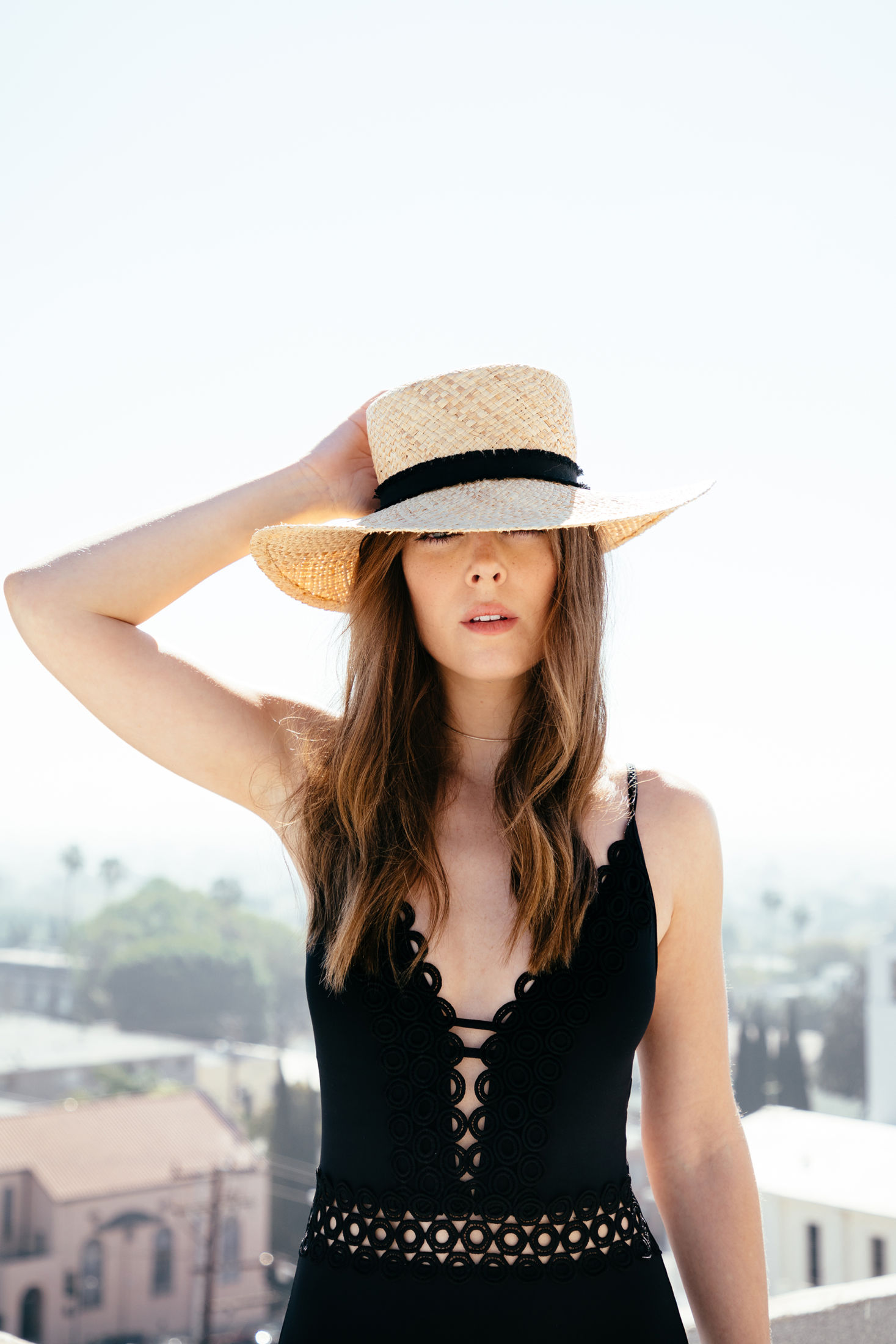 A Fedora is a fabulous addition to any pool day ensemble. They are also  perfect for blocking your face from the sun! Wear it with your favorite  suit while ... 9cb1437318d